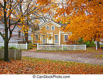 Mill creek historical district - Autumn in Mill creek...