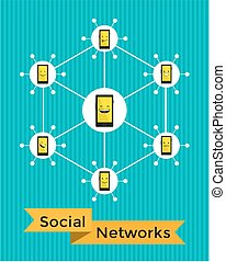 Social Networks with smartphones