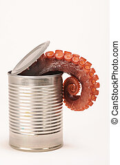 Octopus in a Can