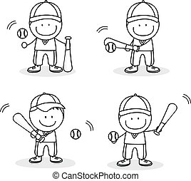 Baseball player boy