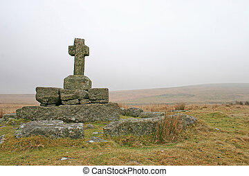 Childes Tomb Dartmoor Devon - Childes tomb on high Dartmoor...