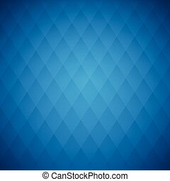 Vector blue squares, abstract background