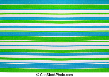 Blue and Green Stripe