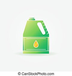 Motor oil for car bright icon - Motor oil for car icon -...
