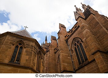 St Marys Cathedral Cathedral - St Marys Cathedral in Sydney...