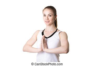 Namaste, gesto