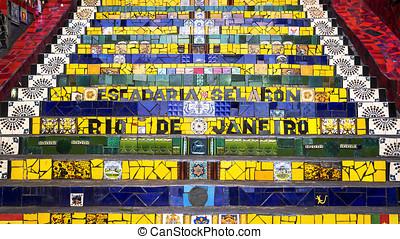 Lapa Steps, Rio de Janeiro, Brazil - Escadaria Selaron, or...
