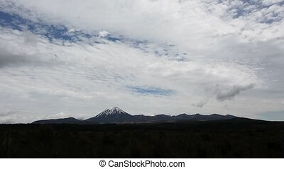 Mount Ngauruhoe in Tongariro National Park New Zealand - Mt...