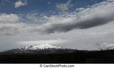Mount Ruapehu in Tongariro National Park New Zealand - Mt...