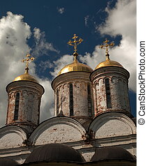Cathedral of the Transfiguration Yaroslavl Russia - Cupola...