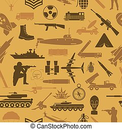 Military background. Seamless