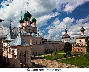 Rostov Veliky. Russia - Rostov Veliky. Kremlin. Russia