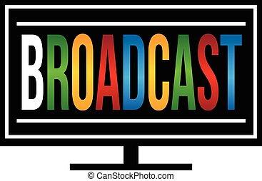 Broadcast TV logo