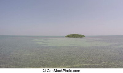 Tropical Island view Fl Keys - Tropical Mangrove Island view...