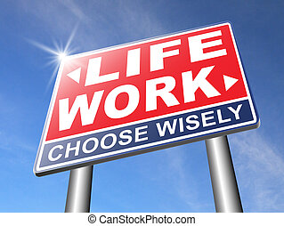 work versus life - work life balance burnout stress test...