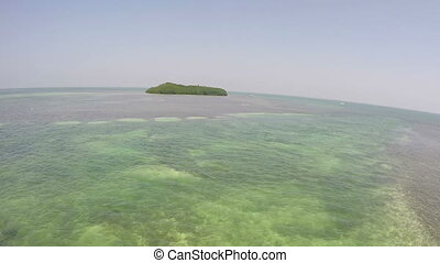 Lens Distortion Island View - Florida Keys Lens Distortion...