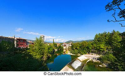 Natisone River in Cividale del Friuli - Italy - Natisone...