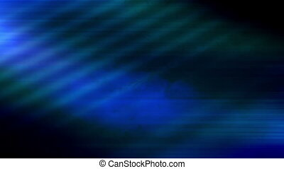 Blue Looping Abstract Animation - Looping blue flowing...