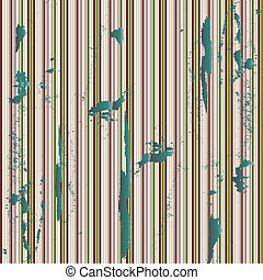 grunge green metallic stripes