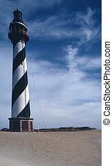 Hatteras Light, North Carolina - Hatteras Light, off the...