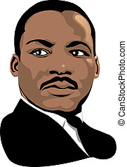 Martin Luther King - Vector Martin Luther King for black...