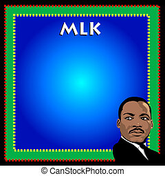 Martin Luther King Poster - Vector Dr. Martin Luther King...