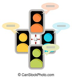 Cloud Network Communication Icon - An image of a cloud...