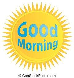 Sunrise Good Morning Icon