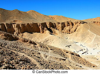 Valley of Kings. Luxor, West Bank, Egypt.