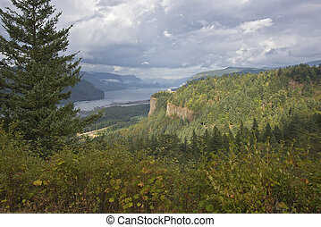 Columbia River Gorge Oregon.