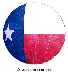 texan flag on a solid white background