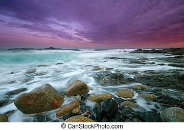 St Clements vivid sundown. - St Clements isle is sited just...