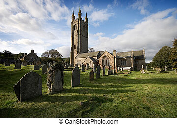 St Pancras Widecombe in the Moor Dartmoor - Nestled in the...