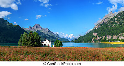 Champferersee - Amazing sunny day at Champferersee lake in...