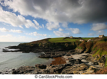Prussia Cove West Cornwall UK - This little beach was once a...