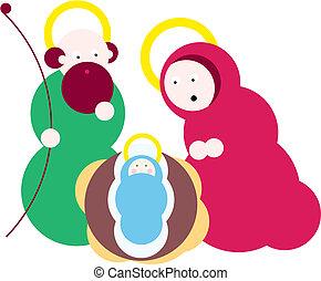 Star of Bethlehem. Nativity - Illustration vector. Star of...