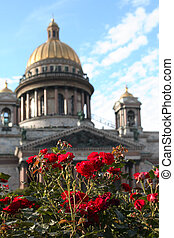 Saint Isaac Cathedral - View of Saint Isaac Cathedral in St...