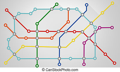 subway transport scheme