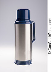 Thermo, Thermo flask on background - Thermo flask Thermo...