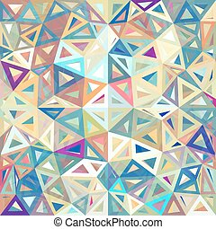 Mottled abstract triangles background - Mottled abstract...
