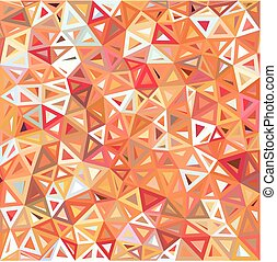 Mottled abstract triangles background