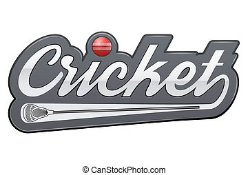 Vintage lacrosse label and badge. Vector Illustration...