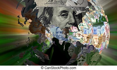 Multiple Currency Globes