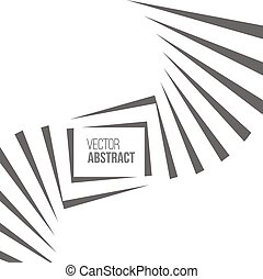 Geometric Vector Black and White Background Architecture and...