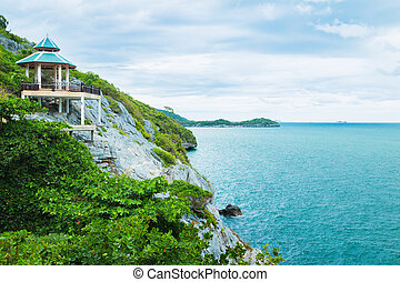 viewpoint - Beautiful viewpoint of the island and sea from...