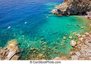 Corniglia, Guvano beach (Cinque Terre, Italy)