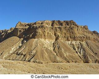 Wadi Zeelim Judean Desert - Judean Desert - a desert in the...
