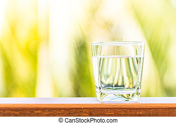 Glass water - Sunflare filter processing