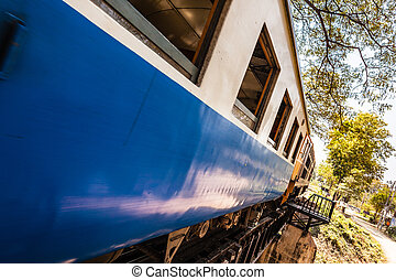 Railroad carriage