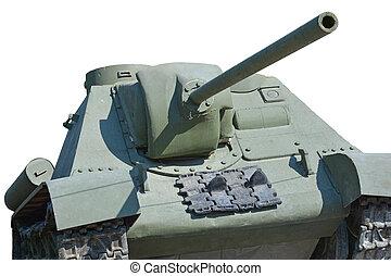 Tank - The old soviet tank SU-100